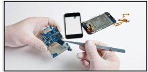 Telefoon scherm reparatie
